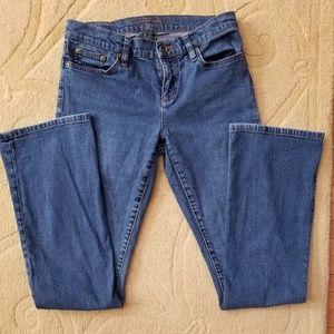 Ralph Lauren Contemporary Low-Rise Bootcut Jeans